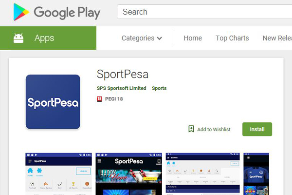 New SportPesa Android App