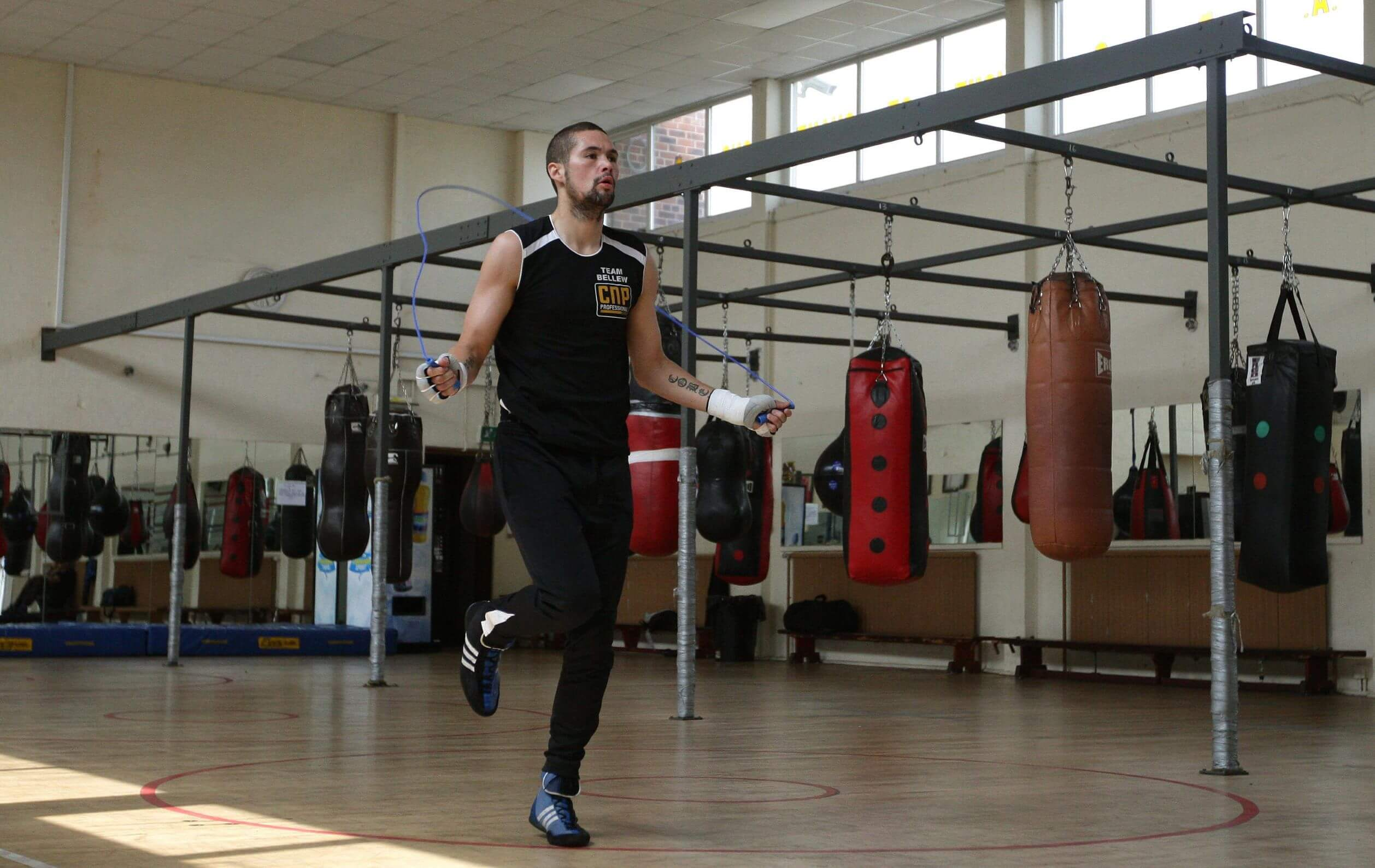 Young Tony Bellew In Training