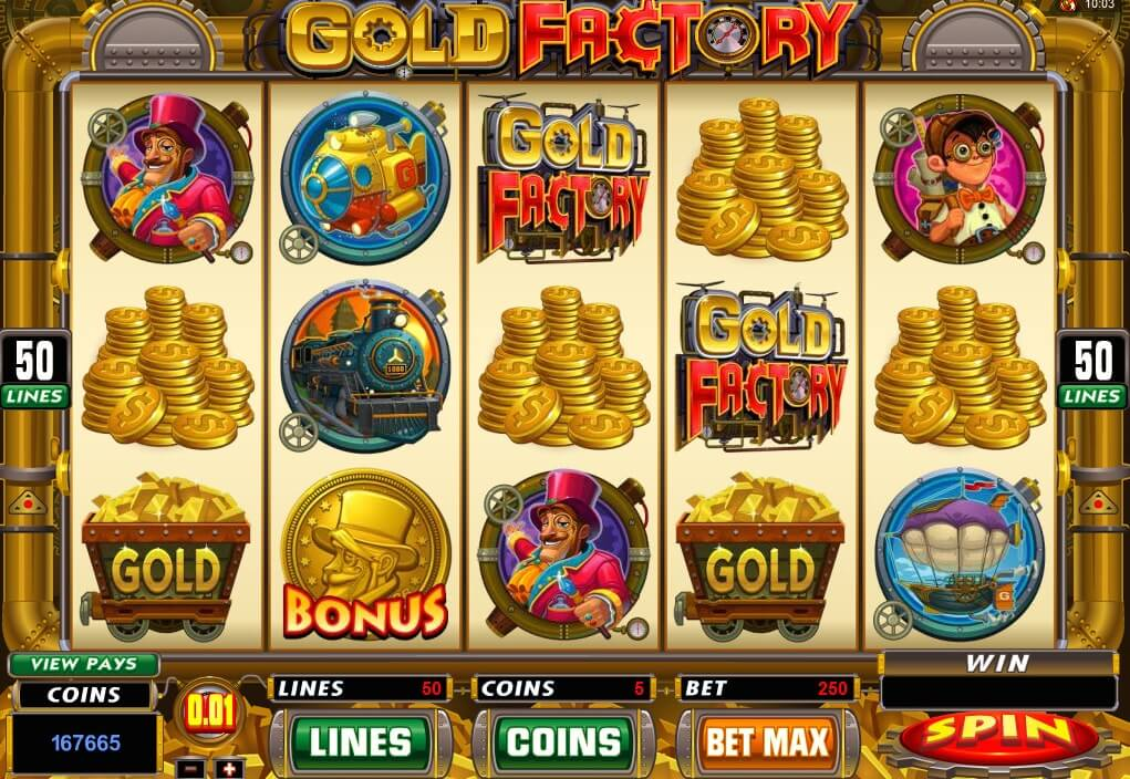 Gold Factory Slot Game
